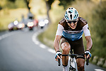 Nans Peters (FRA) AG2R La Mondiale out front solos to the finish during Stage 8 of Tour de France 2020, running 141km from Cazeres-sur-Garonne to Loudenvielle, France. 5th September 2020. <br /> Picture: ASO/Pauline Ballet | Cyclefile<br /> All photos usage must carry mandatory copyright credit (© Cyclefile | ASO/Pauline Ballet)