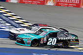 NASCAR XFINITY Series<br /> Irish Hills 250<br /> Michigan International Speedway, Brooklyn, MI USA<br /> Saturday 17 June 2017<br /> Denny Hamlin, Hisense Toyota Camry and William Byron, Liberty University Chevrolet Camaro<br /> World Copyright: Nigel Kinrade<br /> LAT Images