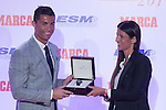 Real Madrid´s Cristiano Ronaldo during the 2014-15 Golden Boot award ceremony in Madrid, Spain. October 13, 2015. (ALTERPHOTOS/Victor Blanco)