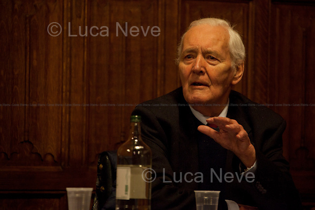 Tony Benn. British politician - 2012<br />