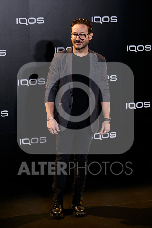 Carlos Santos attends to IQOS3 presentation at Palacio de Cibeles in Madrid, Spain. February 13, 2019. (ALTERPHOTOS/A. Perez Meca)