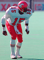 Ron Hopkins Calgary Stampeders 1989. Photo F. Scott Grant