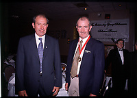 adg photo phyllis brandon 8/22/98<br />Paddy mcDonnel with his brother coach john McDonnell