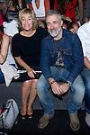 01.09.2012. Celebrities attending the AA de Amaya Arzuaga fashion show during the Mercedes-Benz Fashion Week Madrid Spring/Summer 2013 at Ifema. In the image Anabel Alonso and Sergi Arola (Alterphotos/Marta Gonzalez)