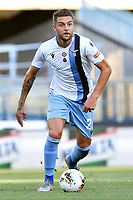 Sergej Milinkovic-Savic of SS Lazio in action during the Serie A football match between Hellas Verona and SS Lazio at stadio Marcantonio Bentegodi in Verona (Italy), July 26th, 2020. Play resumes behind closed doors following the outbreak of the coronavirus disease. <br /> Photo Daniele Buffa / Image Sport / Insidefoto