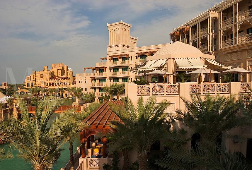 Dubai, United Arab Emirates. Al Qasr Hotel Madinat Jumeirah. Souk.