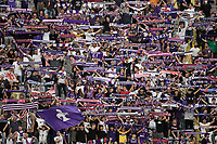 Fiorentina supporters during the Serie A 2021/2022 football match between ACF Fiorentina and SSC Napoli at Artemio Franchi stadium in Florence (Italy), October 3rd, 2021. Photo Andrea Staccioli / Insidefoto
