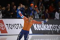 SPEEDSKATING: 16-02-2020, Utah Olympic Oval, ISU World Single Distances Speed Skating Championship, 1500m Men, Kjeld Nuis (NED), World champion, ©photo Martin de Jong