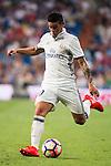Real Madrid's player James Rodriguez during a match of La Liga Santander at Santiago Bernabeu Stadium in Madrid. August 27, Spain. 2016. (ALTERPHOTOS/BorjaB.Hojas)