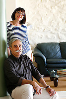 Mr and Mrs Evripiotis portrait