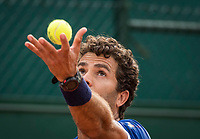 Paris, France, 30 May, 2017, Tennis, French Open, Roland Garros, Man's doubles Jean-Julien Rojer (NED)<br /> Photo: Henk Koster/tennisimages.com