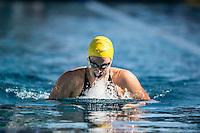 Santa Clara, California - Sunday June 5, 2016:  Caitlin Leverenz races in the Women's 200 LC Meter IM at the Arena Pro Swim Series at Santa Clara final.