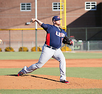 Brooks Pounders - USA Baseball Premier 12 Team - October 25- 28, 2019 (Bill Mitchell)