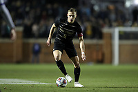 WINSTON-SALEM, NC - DECEMBER 07: Alistair Johnston #8 of Wake Forest University plays the ball during a game between UC Santa Barbara and Wake Forest at W. Dennie Spry Stadium on December 07, 2019 in Winston-Salem, North Carolina.