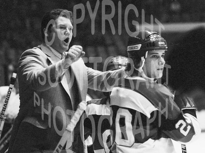 Brian Kilrea Ottawa 67s 1978. Photo Scott Grant