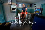 Aidan Turner at Turners Bar in Castle street, Tralee with the barrels of beer that he ordered for the reopening after the news that indoor dining and drinking is to be delayed over Covid-19.