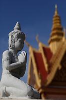 The Royal Palace in Phnom Penh, Cambodia, 2018