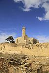 Israel, Jerusalem mountains, Nabi Samuel on Mount Shmuel, remains of the Crusader fortress