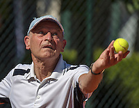 Etten-Leur, The Netherlands, August 23, 2016,  TC Etten, NVK, Theo de Waal (NED) 80+<br /> Photo: Tennisimages/Henk Koster