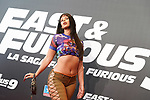 Argentinian singer Nathy Peluso during the photocall for the 'Fast & Furious 9' Madrid Premiere. June 17, 2021. (ALTERPHOTOS/Acero)