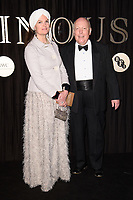 Lord and Lady Fellowes<br /> arriving for the BFI Luminous Fundraising Gala 2017 at the Guildhall , London<br /> <br /> <br /> ©Ash Knotek  D3316  03/10/2017