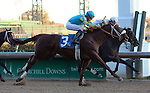 November 14, 2015 Z Royal (Florent Geroux) wins the 9th race at Churchill Downs, a mile maiden race for 2 year olds. Owner Zayat Stables (Ahmed Zayat), trainer D. Wayne Lukas. By Eskendereya x Joanne Jubilation by Monarchos. ©Mary M. Meek/ESW/CSM