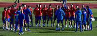Spainsh coach Julen Lopetegui and players,  David De Gea, Sergio Asenjo, Reina, Azpilicueta, Bartra, Carvajal, Monreal, Nacho, Iñigo Martínez, Koke, Thiago, Sergi Roberto, Isco, Busquets, Lucas Vázquez, Vitolo, Herrera, Aritz Aduriz, Nolito, Mata, Callejón, Morata, Silva during the training of the spanish national football team in the city of football of Las Rozas in Madrid, Spain. November 10, 2016. (ALTERPHOTOS/Rodrigo Jimenez) ///NORTEPHOTO.COM