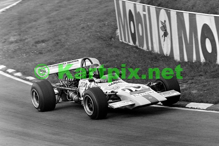 Emerson Fittipaldi BRSCC Rothmans Trophy Brands Hatch 1971.