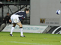 28/10/2008  Copyright Pic: James Stewart.File Name : sct_jspa14_falkirk_v_ict.NEIL MCCANN HEADS HOME FALKIRK'S GOAL.James Stewart Photo Agency 19 Carronlea Drive, Falkirk. FK2 8DN      Vat Reg No. 607 6932 25.Studio      : +44 (0)1324 611191 .Mobile      : +44 (0)7721 416997.E-mail  :  jim@jspa.co.uk.If you require further information then contact Jim Stewart on any of the numbers above........