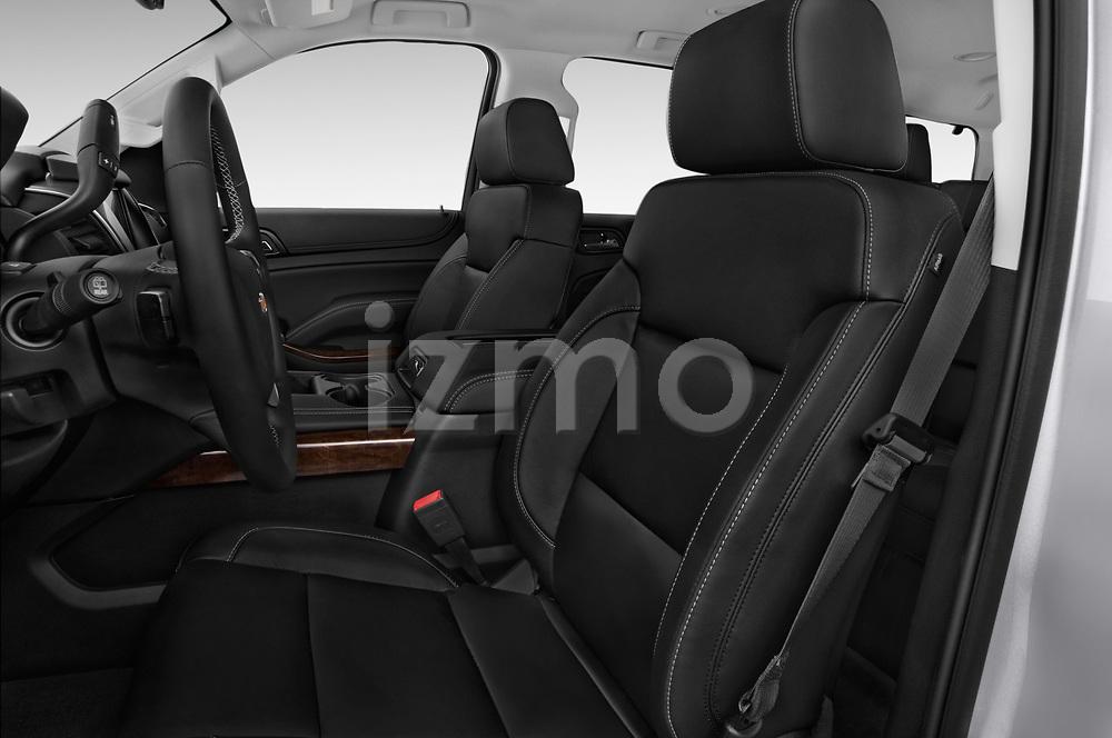 Front seat view of a 2017 Chevrolet Tahoe 2WD LT 5 Door SUV