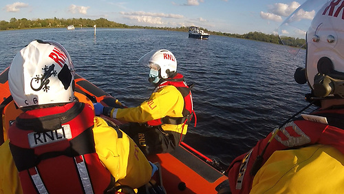 Carrybridge RNLI Assists Four People on Two Separate Call Outs