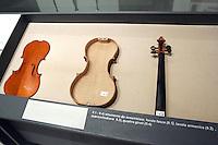 L'interno del Museo Stradivari a Cremona.<br /> Interior of the Stradivari Museum in Cremona.<br /> UPDATE IMAGES PRESS/Riccardo De Luca