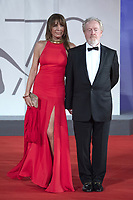 Ridley Scott and Giannina Facio attending The Last Duel Premiere as part of the 78th Venice International Film Festival in Venice, Italy on September 10, 2021. <br /> CAP/MPIIS<br /> ©MPIIS/Capital Pictures