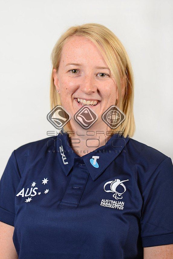 Caroline Walker / Team Official <br /> Australian Paralympic Committee<br /> 2014 Sochi Paralympic Games<br /> (Games Processing)<br /> Melbourne VIC April 2013<br /> © Sport the library / Jeff Crow