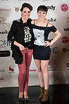 "Nerea Garmendia and Sara Escudero attends to the presentation of the "" Te elegiria otra vez"" theater play at Hotel Vincci Gran Via in Madrid. January 13, 2016<br /> (ALTERPHOTOS/BorjaB.Hojas)"