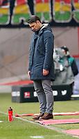 03.03.2018, Commerzbank - Arena, Frankfurt, GER, 1.FBL, Eintracht Frankfurt vs Hannover 96 , <br />Trainer Niko Kovac (Frankfurt) *** Local Caption *** © pixathlon<br /> Contact: +49-40-22 63 02 60 , info@pixathlon.de