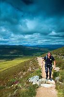 Glen Feshie from Carn Ban Mor, Cairngorm National Park