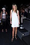 02.09.2012. Celebrities attending the Roberto Torretta fashion show during the Mercedes-Benz Fashion Week Madrid Spring/Summer 2013 at Ifema. In the image Raquel Meroño (Alterphotos/Marta Gonzalez)