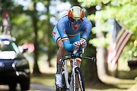 Belgian National TT champion Jurgen Van den Broeck (BEL/Lotto-Soudal)<br /> <br /> Elite Men TT<br /> UCI Road World Championships / Richmond 2015