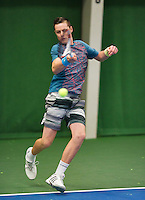 November 30, 2014, Almere, Tennis, Winter Youth Circuit, WJC, Lodewijk Weststrate   Deney Wassermann<br /> Photo: Henk Koster