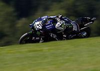 21st August 2020, Red Bull Ring, Spielberg, Austria. MotoGP of Ausria, Free Practise sessions:  Maverick Vinales ESP / Monster Energy Yamaha MotoGP