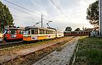 Milano luglio 2017 - capolinea del tram 19 e 12