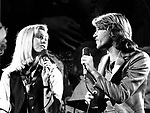 Olivia Newton-John and Andy Gibb 1979 Unicef Show.© Chris Walter.