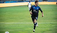 SAN JOSE, CA - SEPTEMBER 19: Chris Wondolowski #8 of the San Jose Earthquakes during a game between Portland Timbers and San Jose Earthquakes at Earthquakes Stadium on September 19, 2020 in San Jose, California.
