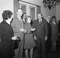 Les premiers hommes sur la lune visitent Montreal, decembre 1969
