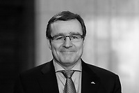 April 7, 2014 - Mario Plourde, President & CEO of Cascades Inc., delivers a speech to the Canadian Club of Montreal.<br /> <br /> Mario Plourde, président et chef de la direction de Cascades inc., prononce une allocution à la tribune du Cercle canadien de Montréal<br /> <br /> Photo : Pierre Roussel