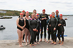 All swimmers at the Green Buoy 1KM Swim in Clogherhead.....(Photo credit should read Jenny Matthews/NEWSFILE)...