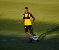 03.01.2018,  Football 1.Liga 2017/2018,  trainings camp of  Borussia Dortmund in Marbella in spain, 1.Training team Estadio Municipal de Marbella, Alexander Isak (Dortmund) . *** Local Caption *** © pixathlon<br /> <br /> +++ NED + SUI out !!! +++<br /> Contact: +49-40-22 63 02 60 , info@pixathlon.de