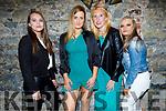 Clea King from Killarney celebrating her birthday in Benners Hotel on Thursday night. L to r: Bogumila Jedrzejowska, Clea King, Jackie Dodd and Chloe Scollard.