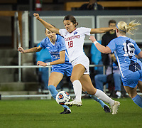 Stanford, CA - December 8, 2019: Sam Tran at Avaya Stadium. The Stanford Cardinal won their 3rd National Championship, defeating the UNC Tar Heels 5-4 in PKs after the teams drew at 0-0.
